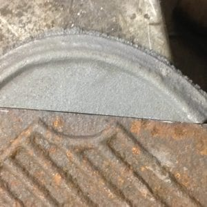 Where parts were missing casting were made to replace them